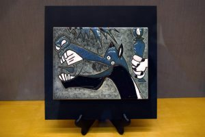 Ceramic tile of Picasso's Guernica